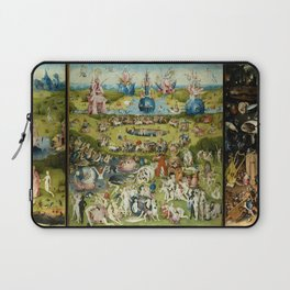 Hieronymus Bosch The Garden Of Earthly Delights Laptop Sleeve