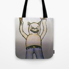 Killer cat Tote Bag