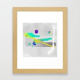 Force Of Expression Framed Art Print