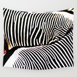 Abstract Zebra No. 2 Wall Tapestry
