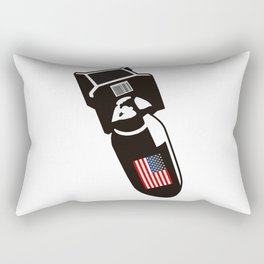 U.S. Bombs Rectangular Pillow