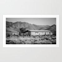 Soledad del desierto Art Print