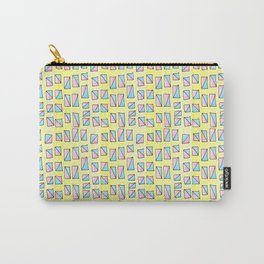 rectangle and abstraction-mutlicolor,abstraction,abstract,fun,rectangle,square,rectangled,geometric, Carry-All Pouch