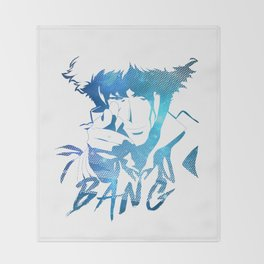 Bang Throw Blanket