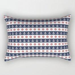 Ship Wheels & Anchors Rectangular Pillow