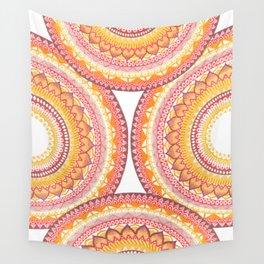 Summer Vibe Mandala Wall Tapestry