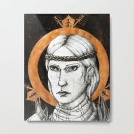 Ladies of Dragon Age: Aveline Vallen Metal Print