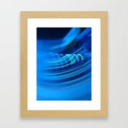 Smooth light art Framed Art Print
