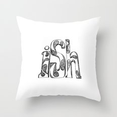 the iSh Throw Pillow