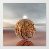 copper Canvas Prints featuring COPPER by INA FineArt