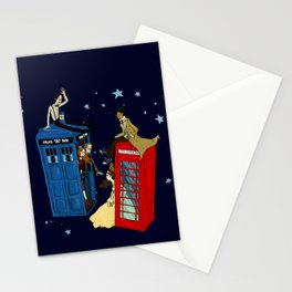 Inspector Who Stationery Cards