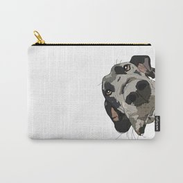 Great Dane dog in your face Carry-All Pouch