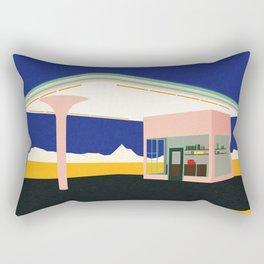 Texas Desert Gas Station Rectangular Pillow