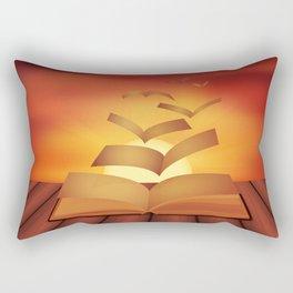 poetry inspiration Rectangular Pillow