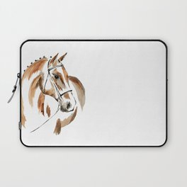 Bay Watercolour Horse Laptop Sleeve