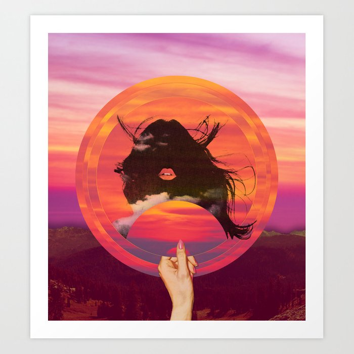 Set My Sun Art Print