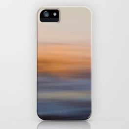 Undulating Sunset iPhone Case