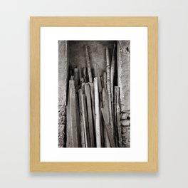 Ancient Woods Framed Art Print