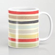 Stripes Watercolor Paint Robayre Mug