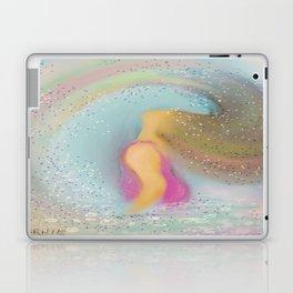 Rainbow Girl Laptop & iPad Skin