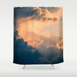 Majestic Clouds Shower Curtain