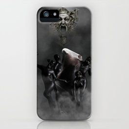 Laughing at my disaster iPhone Case