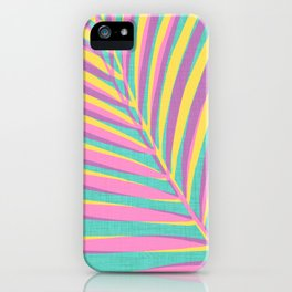 Bright Tropical Palm iPhone Case