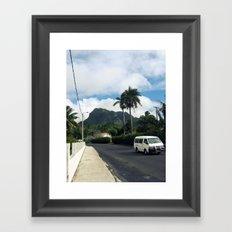 Island Road Framed Art Print