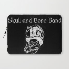 Skull and Bone Band 2 Laptop Sleeve