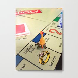 Game Night Metal Print