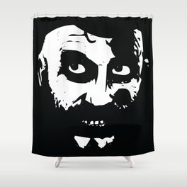 Chicken&Gasoline Shower Curtain