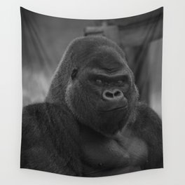 Oumbi The Silverback Gorilla Wall Tapestry