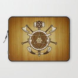 d20 Viking Warrior Laptop Sleeve