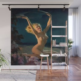 (Happy) Gay Nymph by Gil Elvgren Pin Up Girl Wall Mural