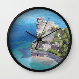 Miners Castle Wall Clock