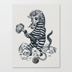 Natures Prisoner Canvas Print