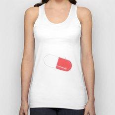 a pill Unisex Tank Top