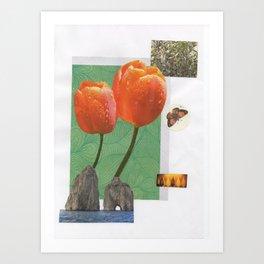 Itaca, ítaca, Ιθάκη... Art Print