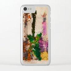 guitars 3 art Clear iPhone Case