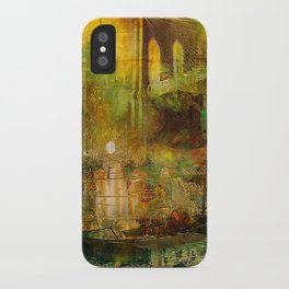 The gondolier of Brooklyn iPhone Case