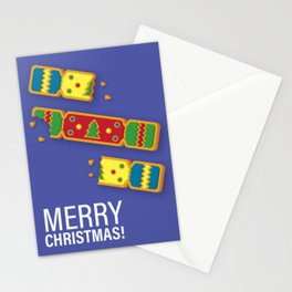 Christmas Cracker Cookie Stationery Cards