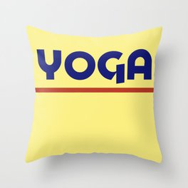 YOGA - ADOBO Throw Pillow