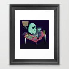 #1 Spoop Framed Art Print