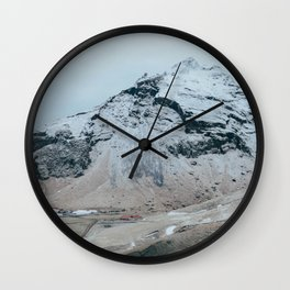 Icelandic Pyramid Wall Clock