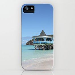 Tropical Paradise Pier on Antigua iPhone Case