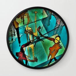 """The Adventures of Rain Dance Maggie"" Wall Clock"