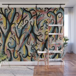 Chaotic Wall Mural