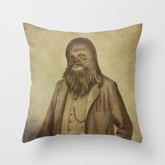 Chancellor Chewman - square format Throw Pillow