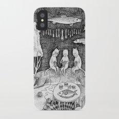 Knitting Cats Slim Case iPhone X