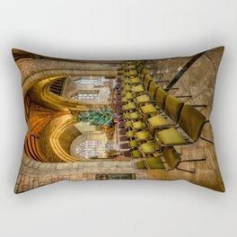 Cathedral Christmas Rectangular Pillow